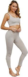 KKKJJJ Workout Clothes Sport Suit Yoga Set Sportswear Gym Wear Running Clothes Tracksuit