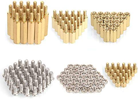 HanTof Raspberry Pi Installation Tool 160 Pcs Lot M2 5 Series Hex Brass Spacer Standoff Nuts product image