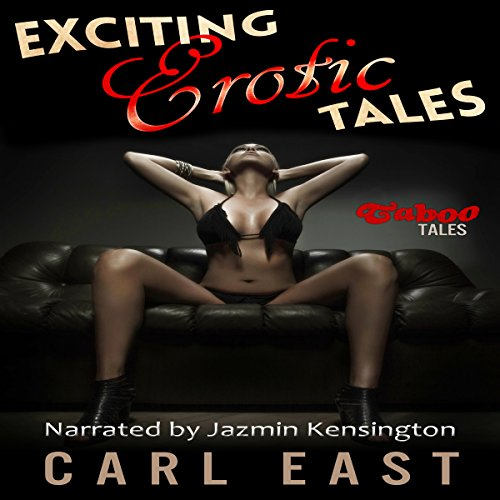 Exciting Erotic Tales audiobook cover art