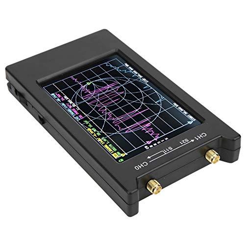 Kit analizador de red de aluminio + PCB, analizador de vectores, USB tipo C de 10 KHz-1,5 GHz para red de observación