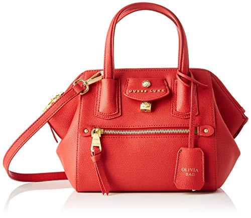 Guess - Olivia, Bolso de mano Mujer, Rojo (Red), 14x19x29 cm (W x H L)