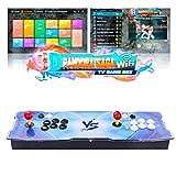 TAPDRA 3D Pandora Saga WiFi 3000 en 1 TV Game Box Consola Arcade Kit Completo de Bricolaje, admite hasta 10000 Juegos...