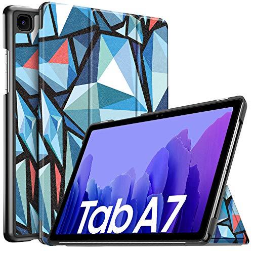 IVSO Hulle Kompatibel mit Samsung Galaxy Tab A7 104 2020 Schlank Slim Hulle Schutzhulle Hochwertiges PU mit Standfunktion Samsung Galaxy Tab A7 T505T500T507 104 Zoll 2020 CH 44