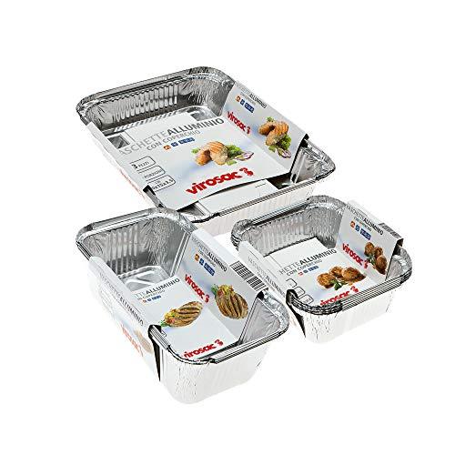 Vaschette in Alluminio per la Cottura Degli Alimenti