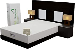 Bio Mattress Colchón Cool Gel Queen Size, Memory Foam con G