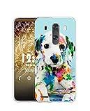 Sunrive Coque Compatible avec LG G4, Silicone Étui Housse Protecteur Souple Gel Transparent Back...