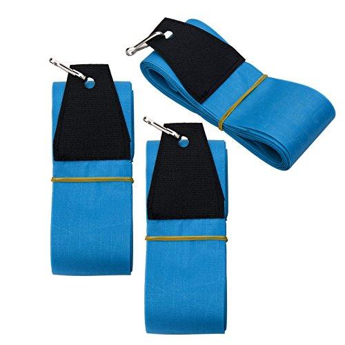 Skymonkey Kite-Tail Drachenschwanz, Länge = 10m [3 Stück] - passend Airtwister, Skystormer & Windtrainer - blau