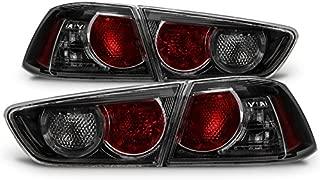 For Mitsubishi Mit Lancer Evolution EVO X 10 CZ4A Black Smoked Tail Brake lights Lamp