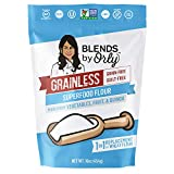 Grainless No Grain Bread Flour Superfood – Grain Free Gluten Free Cake Flour, | Soy Free Flour, Corn Free Flour, Nut Free Flour, Vegan, Paleo Friendly, OU Kosher, 1 Pack