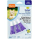 Best HARTZ Flea Collars For Kittens - Hartz UltraGuard OneSpot Flea Egg and Larvae Treatment Review