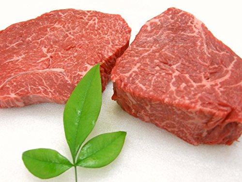 ギフト用 厳選 【 黒毛和牛 雌牛 限定 】 あっさり赤身モモステーキ と やわらか ランプ芯 ステーキ 4枚 セット 【木箱詰め】