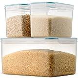 Komax Biokips Extra Large Rice Container Set | (Set of...