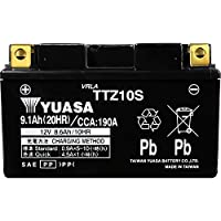 台湾製 バイクバッテリー 国内液入 初期補充電済 YUASA 純正互換品 (TTZ10S / YTZ10S / FTZ10S 互換)