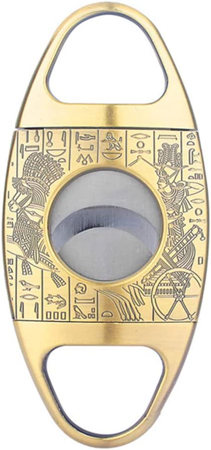 ZXYWW Personalized Cigar Cutter Manufacturer regenerated product Max 77% OFF Stai Bronze Guillotine Engraved