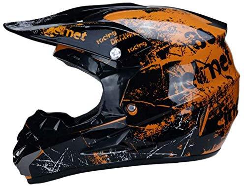 MCRUI Motocross Helmet, BMX Helmets, MTB Full Face Helmet, Folding Helmets, Modular...