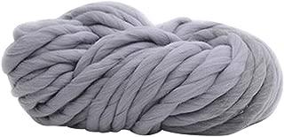 Coleccionador de lana gruesa gigante de 250 g de moda super voluminoso DIY mano tejer manta sombreros cálidos, 11#, talla única
