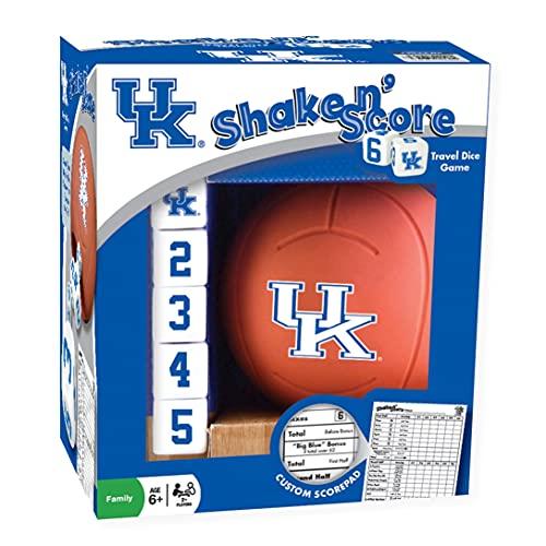 MasterPieces NCAA Kentucky Wildcats Shake N' Score Travel Dice Game