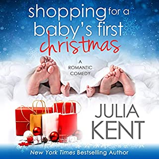 Shopping for a Baby's First Christmas audiobook cover art
