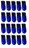 AERZETIX: Ampoules T10 W5W 12V bleu pour veilleuses plaque d'immatriculation plafonnier éclairage intérieur (20 pièces)