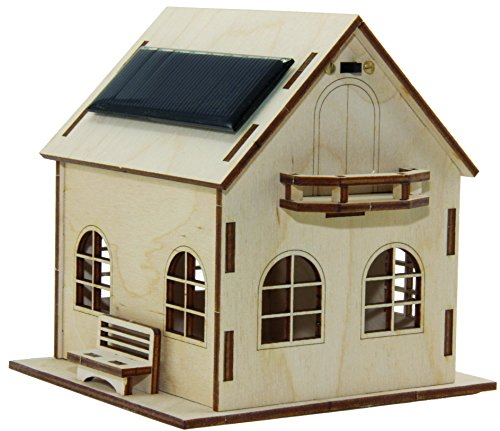 Sol Expert Group SOH - Solarhaus Villa Sonnenschein, Bausatz, Holz, Natur