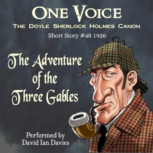 The Adventure of the Three Gables audiobook cover art