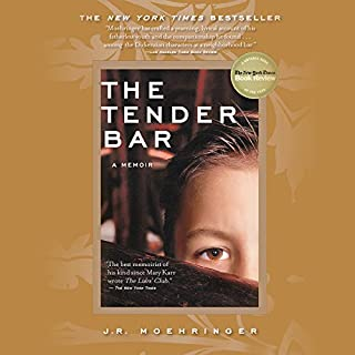 The Tender Bar audiobook cover art