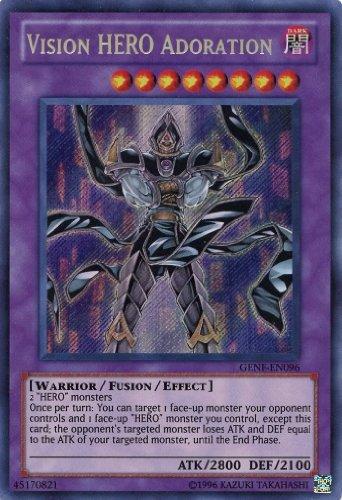 Yu-Gi-Oh! - Vision Hero Adoration (GENF-EN096) - Generation Force - Unlimited Edition - Secret Rare