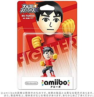 AMIIBO Super Smash Bros - Mii Brawler (Multi)