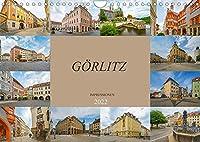 Goerlitz Impressionen (Wandkalender 2022 DIN A4 quer): Traumstadt im oestlichen Deutschland (Monatskalender, 14 Seiten )