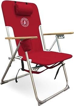 Caribbean Joe Five Position high Weight Folding Beach Chair