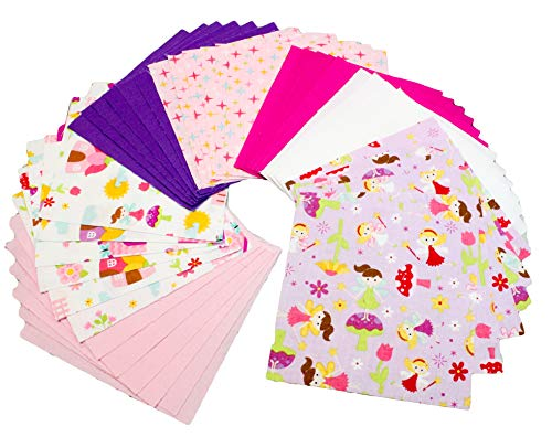 pink and purple quilting fabric - 9