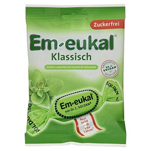 Em-Eukal Klassisch zuckerfrei Hustenbonbon, 75g