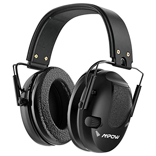 Mpow Shooting Ear Protection, Professional Electronic Earmuffs with Listening Mode, 22dB NRR Ear...