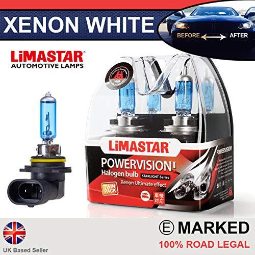 Xenon Weiß Plasma HB360W Halogen, healight Leuchtmittel 6000K (Paar) 9005