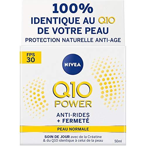 NIVÉA - Visage Soin Jour Q10+ Anti-Ride Spf30 50Ml - Lot De 2 - Vendu Par Lot