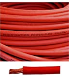 6 Gauge 6 AWG 25 Feet Red Welding Battery Pure Copper Flexible Cable Wire - Car, Inverter, RV, Solar by WindyNation