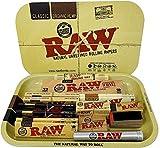 Reds - Juego de bandeja con tapa magnética exclusivo de la marca Raw, diseño Girl - RG1