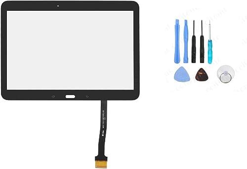 """Vitre ecran tactile pour Samsung Galaxy Tab 4 10.1"""" T530 T531 T535 noir + outils"""