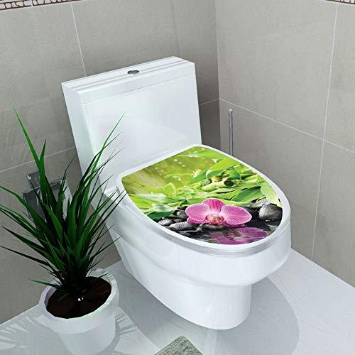 BLOUR Neue Einfachheit Frischer Stil Toilettensitz Wandaufkleber Kunst Badezimmer Aufkleber Dekor PVC AbnehmbareWohnkultur Drop Ship