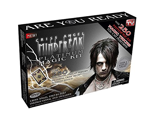 Product Image of the Criss Angel MindFreak Platinum Magic Kit w/ Instructional DVD