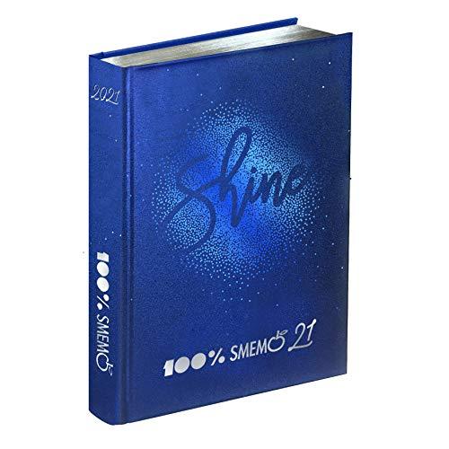 Smemoranda - Diario 2020/2021 16 Mesi - Special Shine Blu - 13x17cm