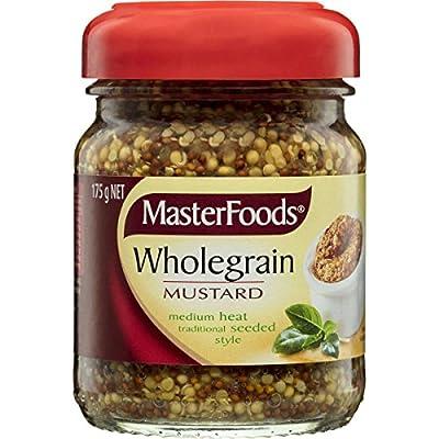 Masterfood Mustard Wholegrain 175g