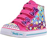 Skechers Kids Girls' Twinkle Breeze Sneaker,Emoji Multi,5 M US Toddler