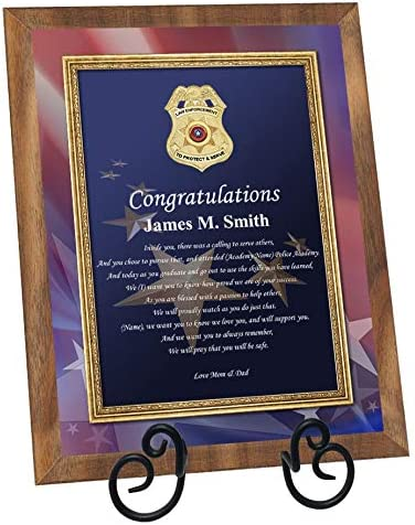 Sheriff Police Academy Topics on TV Graduation Gift Law Max 57% OFF Enforcement School Gr