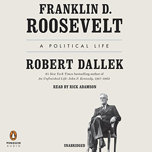 Franklin D. Roosevelt audiobook cover art
