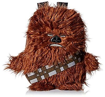 Star Wars Disney Chew Bacca 3D Plush Furry Arms and Legs Mochila de 16 Pulgadas para niños, marrón (Marrón) - B15SW23302-TU de Accessory Innovations Children's Apparel