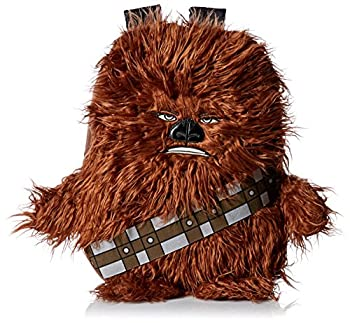 Star Wars Boys  Disney Chew Bacca 3d Plush Furry Arms & Legs Brown 16  Backpack One Size