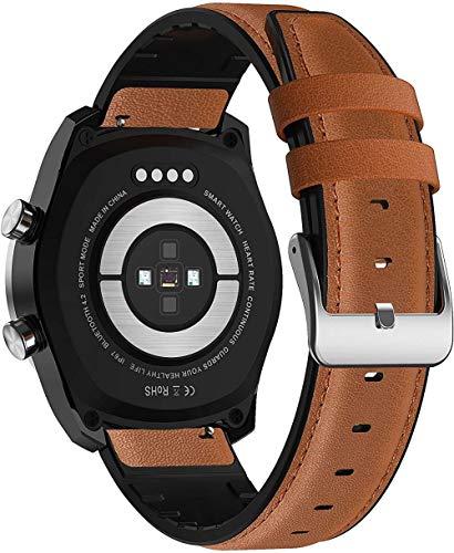 Reloj inteligente de llamada Bluetooth 560 mAh ECG para hombres 360 * 360 HD Full Round/Touch Multi-Sport Modo Smart Watch IP67 impermeable A-B