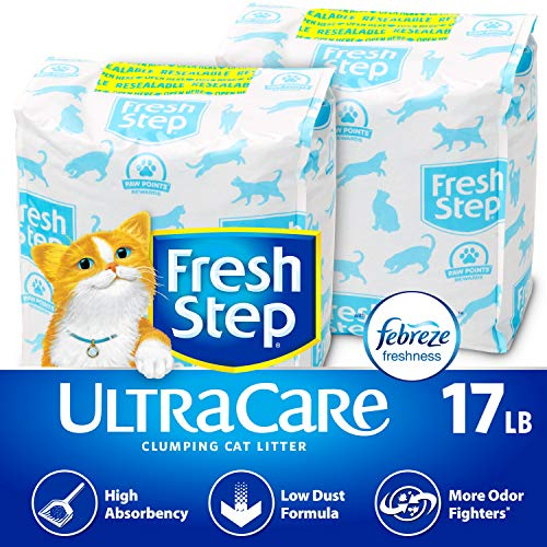 Fresh Step UltraCare with Febreze Freshness, Clumping Cat Litter