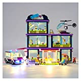 Light Set USB Powered, para Chicas Heart Lake City Hospital Blocks, compatible con LEGO 41318, Conjunto de iluminación LED - Lego Set no incluido